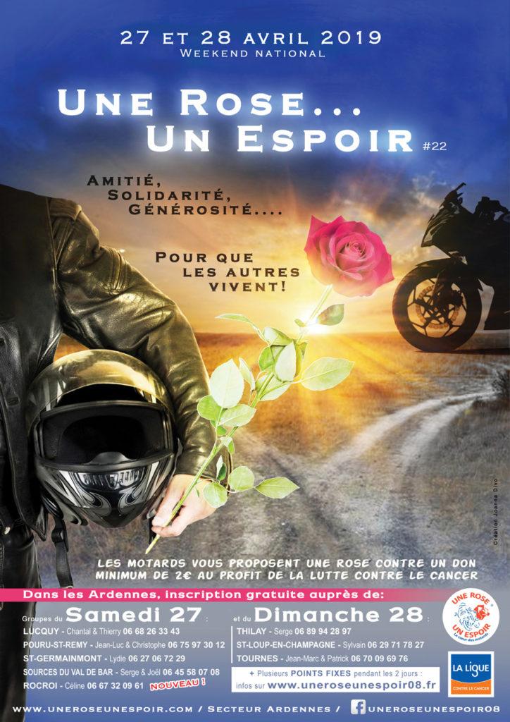 Affiche Une rose un espoir 2019 Ardennes